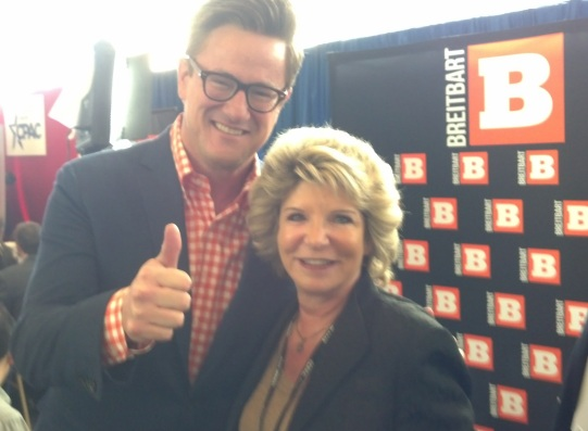 Myra and Joe Scarborough at CPAC Feb. 2015